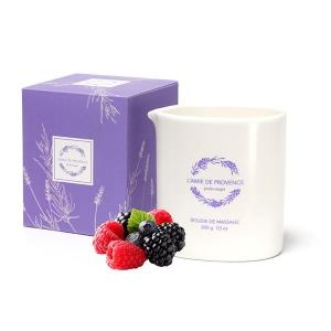 Świeca o zapachu FRUITS ROUGES (owoce leśne)