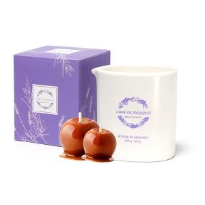 Świeca o zapachu POMME CARAMEL (jabłko w karmelu)