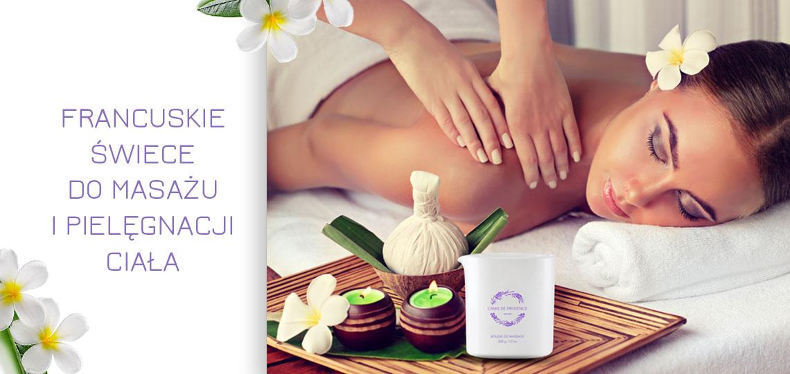masaż prowansalskimi świecami do masażu